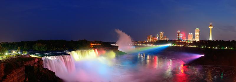 Niagara Falls de moeite om te bezoeken