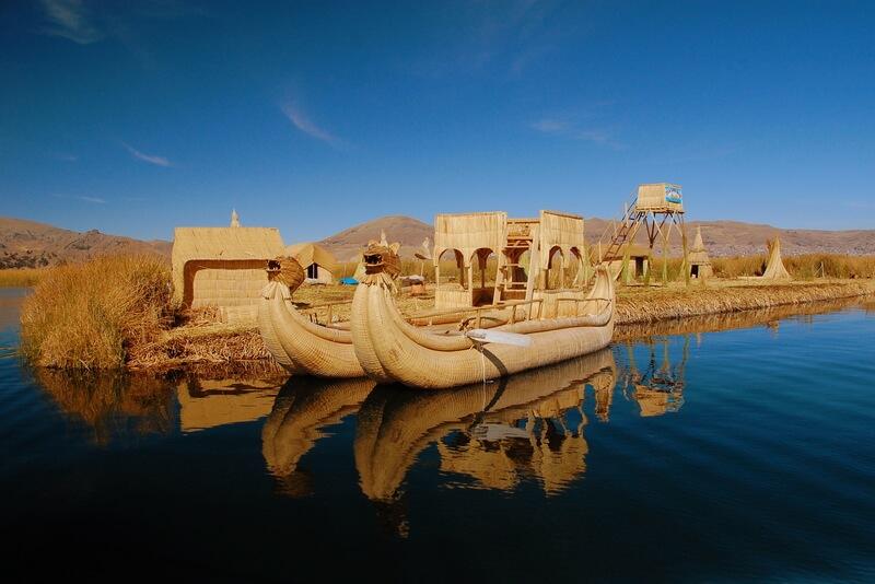 drijvende eilanden titicacameer