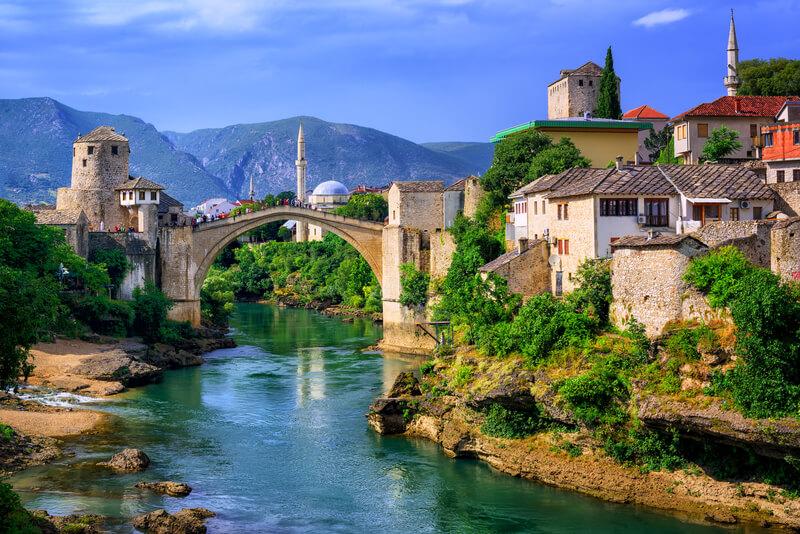 groepsreis in Bosnië