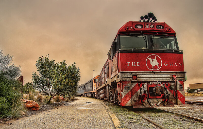 reizen met de trein erg in opmars