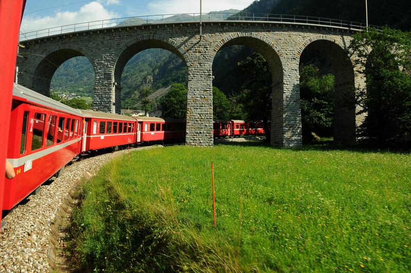 reizen met de trein steeds populairder