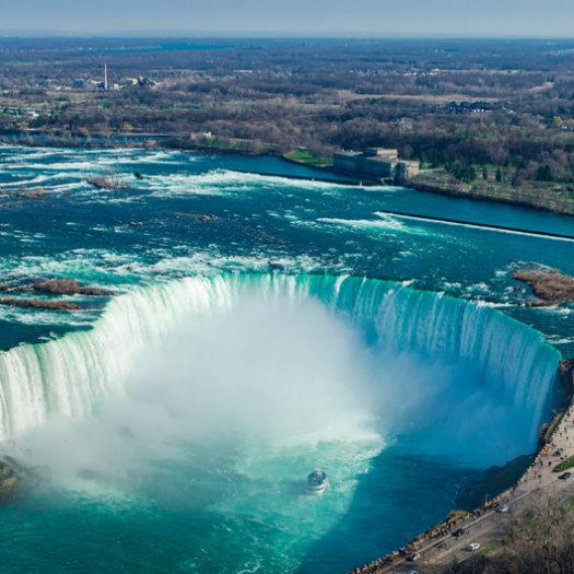 Waarom de Niagara Falls de moeite waard zijn.