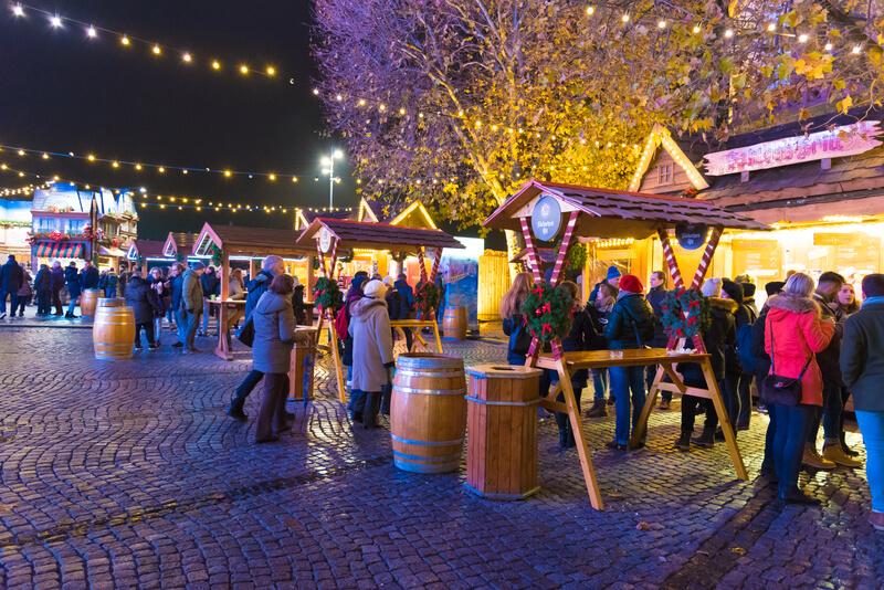kerstmarkt in dusseldorf