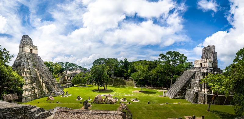 mooie maya stad