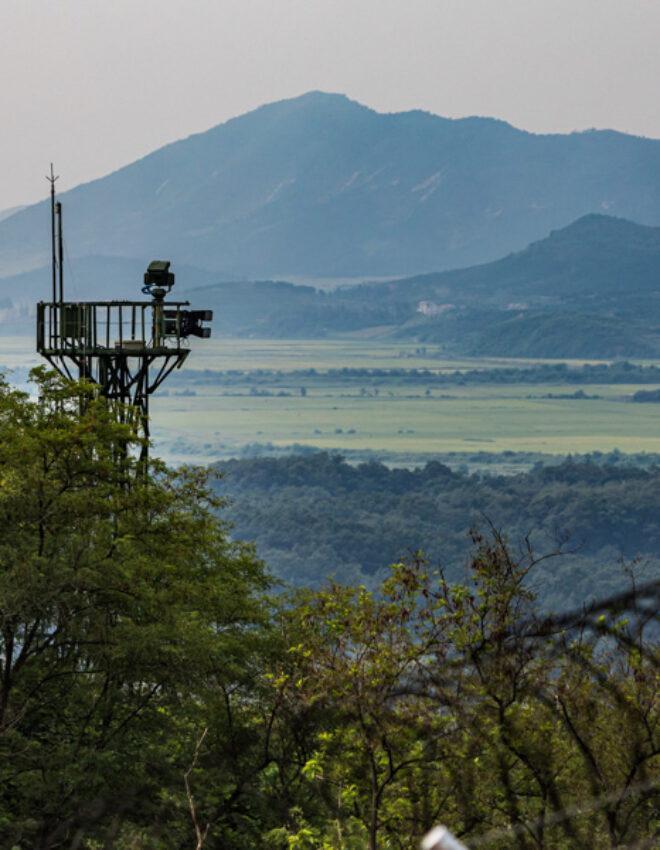 Voel je terug in de koude oorlog langs de DMZ tussen Noord en Zuid Korea