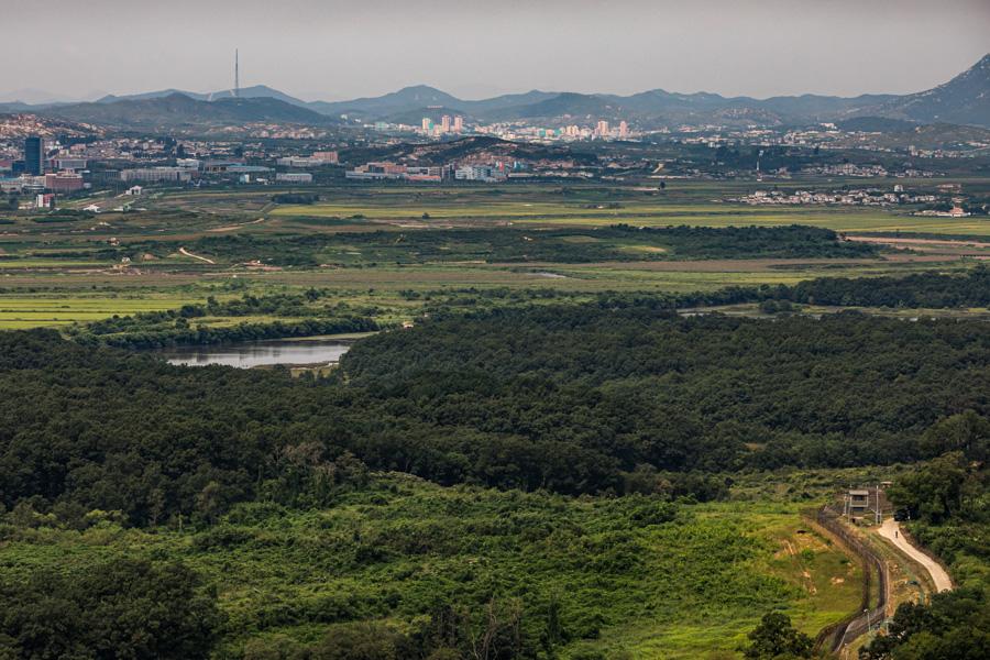 noord en zuid korea grens