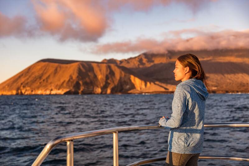 hoe kom je op de Galapagos eilanden