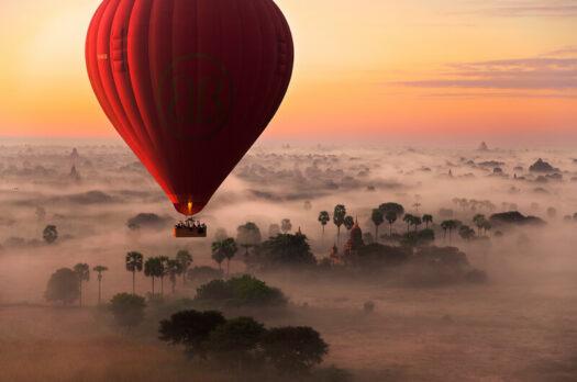 De mooiste ballonvaarten ter wereld!