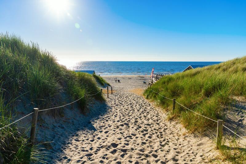 strand op texel
