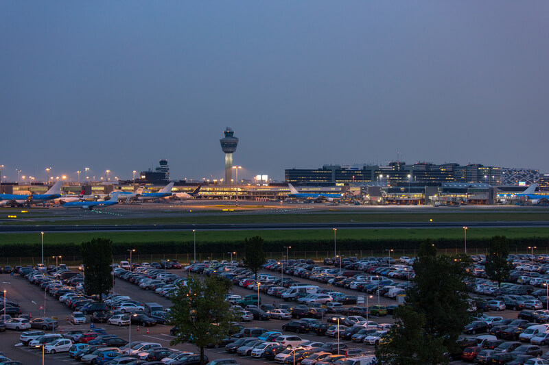 parkeren vliegveld