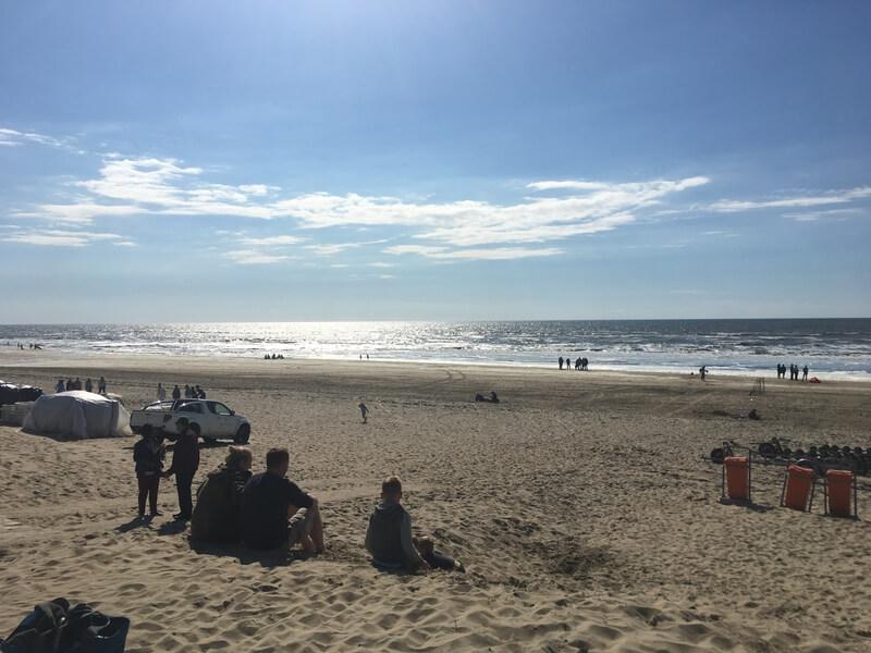 de mooiste stranden van Nederland Bloemendaal