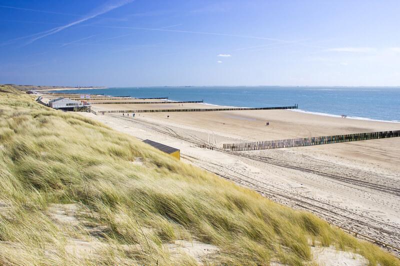 mooiste stranden van nederland zoutelande